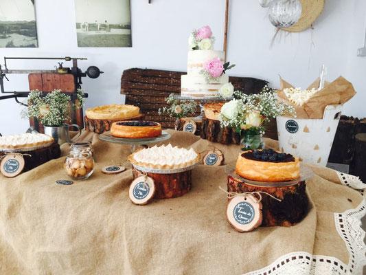 Mesa dulce Alquería, estilo rústico o clásico (V) | Dulce Dorotea
