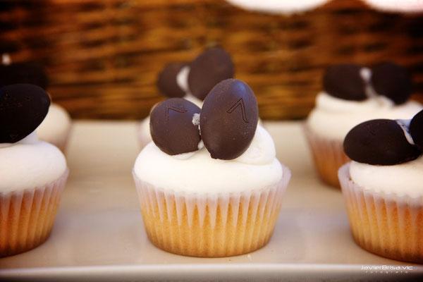 Cupcake rellena de chocolate de Dulce Dorotea