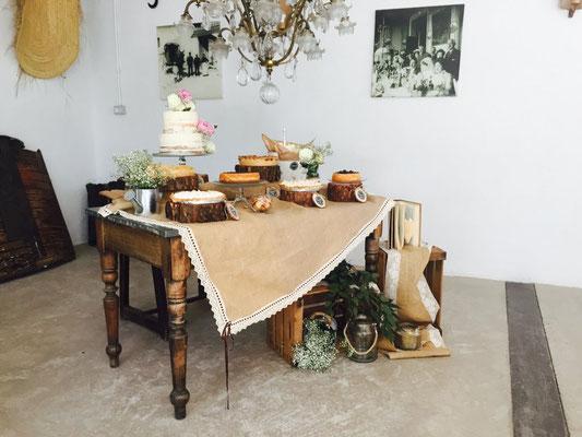 Mesa dulce Alquería, estilo rústico o clásico (I) | Dulce Dorotea