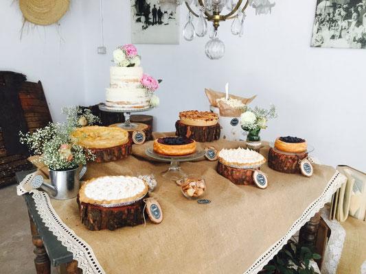 Mesa dulce Alquería, estilo rústico o clásico (III) | Dulce Dorotea