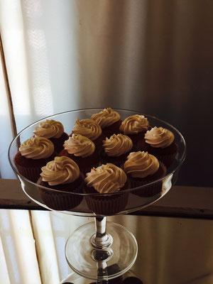 Cupcakes de café de Dulce Dorotea