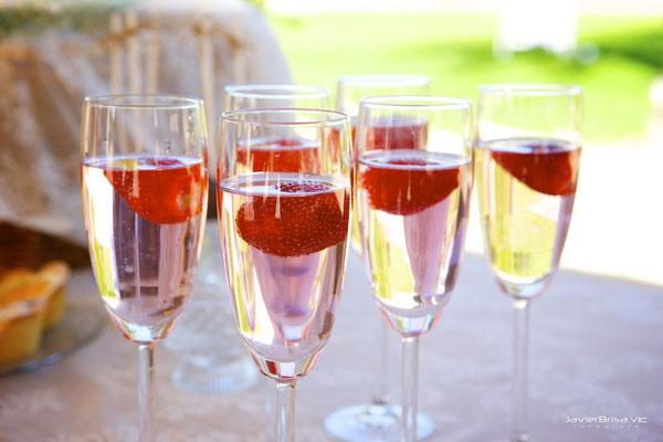 Copas de champagne de Dulce Dorotea