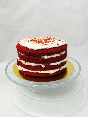 Tarta naked Red Velvet