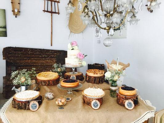 Presentación mesa dulce Alquería (estilo rústico o clásico)  | Dulce Dorotea