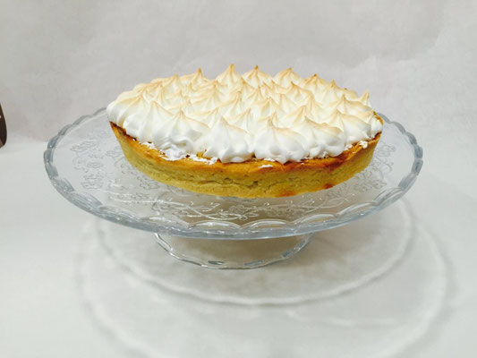 Tarta de limón (Lemon pie) con merengue