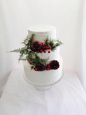 Tarta de boda layer cake de Dulce Dorotea