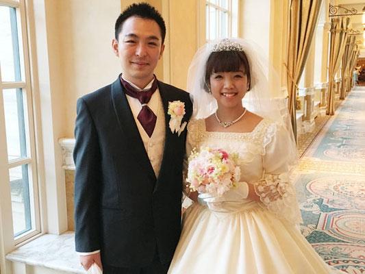 FTW 写真 ミラコスタ ウェディング 結婚式 桜 花屋 舞浜 プリザーブドフラワー