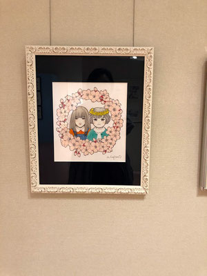 陣崎草子さんの児童文学「桜の子」のカバー、および挿画の担当をさせていただきました。こちらも新鮮な体験でした!