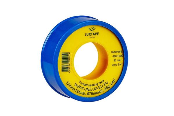 LUXTAPE UNI 12MM X 12M X 0,075MM  / 0,35 g/cm3