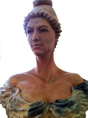 Marianne du Magnoac, en place.
