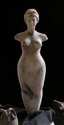 Idole blanche. (voir catalogue)