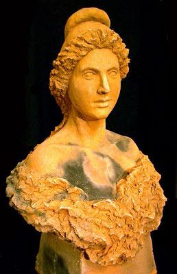 Maquette de la marianne du Magnoac
