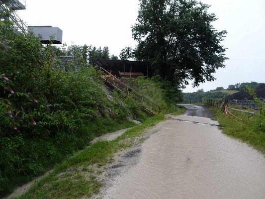 Un simple orage entraine des tones de fines qui détruisent toute vie dans les rivières du haut Béarn-Côté Est