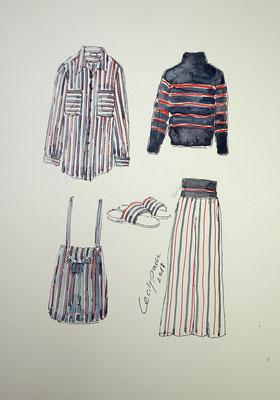 Mappenkurs Modedesign, Mode zeichnen, Modedesignstudium, Modedesignmappe, Modedesign studieren Düsseldorf NRW