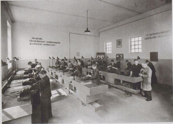 Lehrwerkstatt in den 1930ern