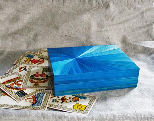 Boîte pour 2 jeux de cartes (vendue)