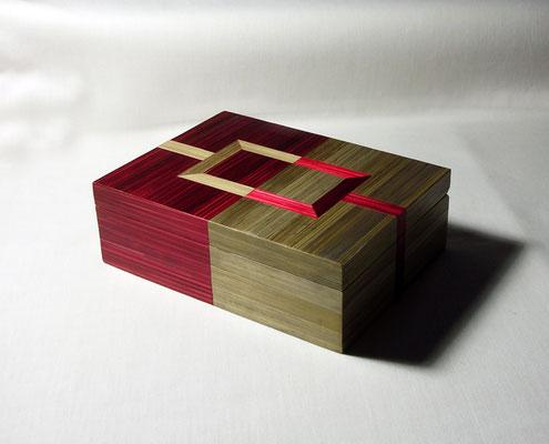 Boîte pour 2  jeux de cartes
