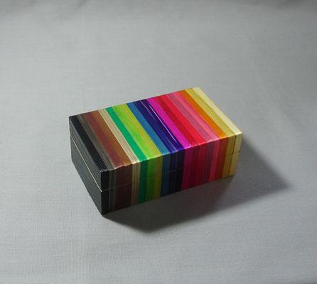 Petite boîte arc-en-ciel (vendue)