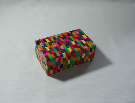 Petite boîte façon mosaïque (vendue)