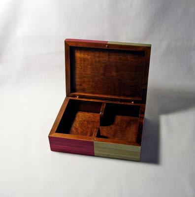 Intérieur de la boîte à cartes