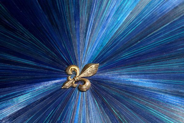 Fleur de lys en laiton