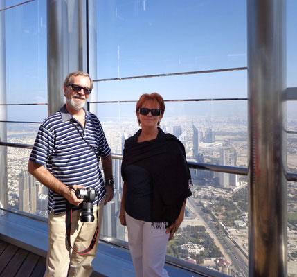 Na 124 pietrze w Burj Khalifa