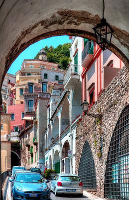 Jedna z bram miejskich Amalfi