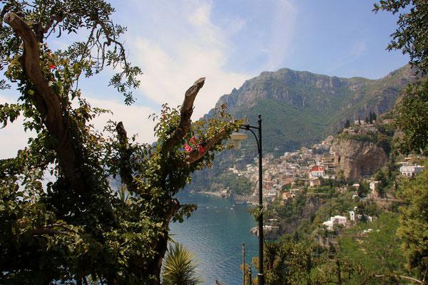 Widok z serpentyn w Nocella Arienzo