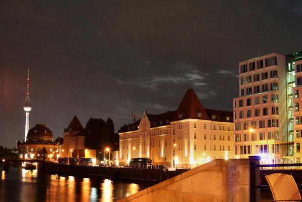 Spojrzenie na miasto od strony Friedrichstrasse