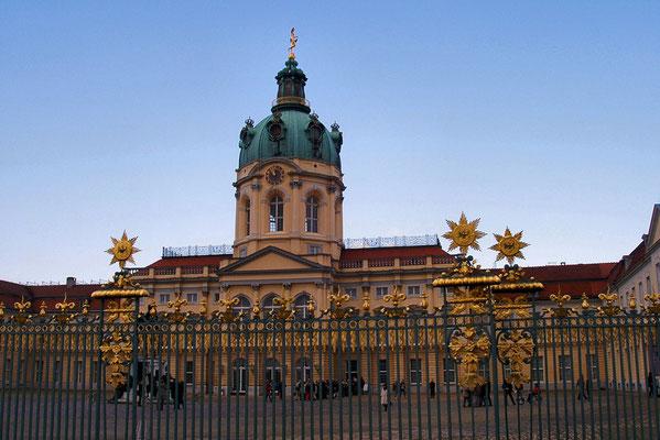 Fasada glowna Zamku Charlottenburg