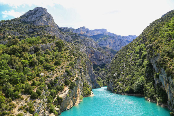 Poczatek Grand Canyon du Verdon