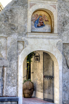 Wejscie do Klasztoru S. Rosa