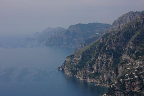 calkiem z tylu skaly Capri