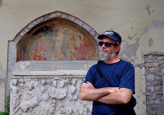 Salerno - w kruzgankach Katedry Sw. Mateusza