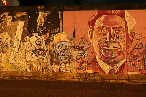Pozostalosci bylego Muru Berlinskiego