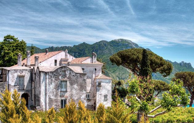 W ogrodach Ravello - Villa Cimbrone