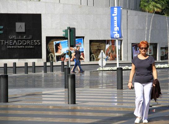 Basia przy Dubai Mall