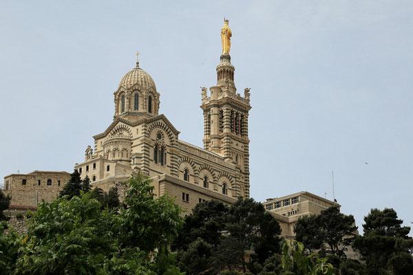 Marsylia - Katedra Notre-Dame-de-la Garde