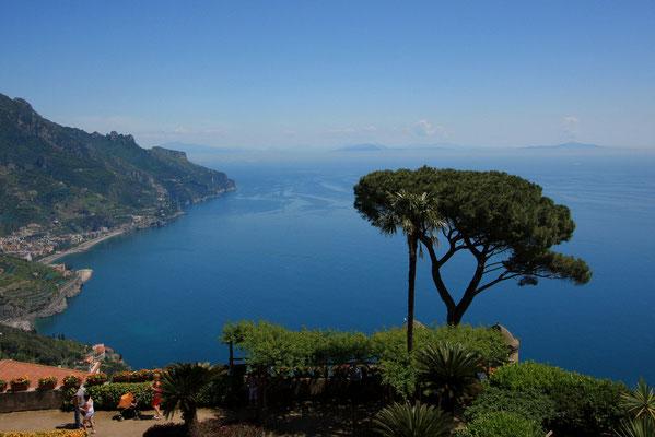 wspaniale widoki z Villa Rufolo