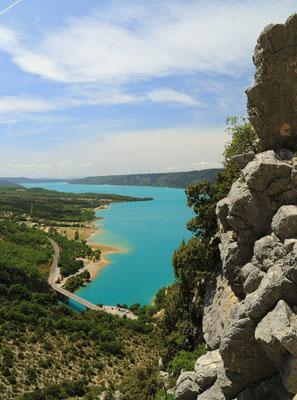 Jezioro zaporowe La Lac de St. Croix