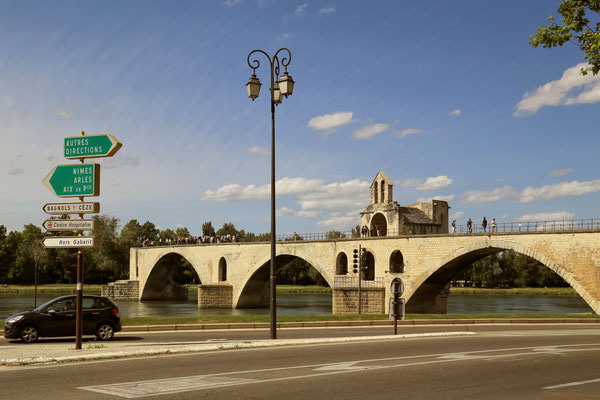 slynny most w Avignon