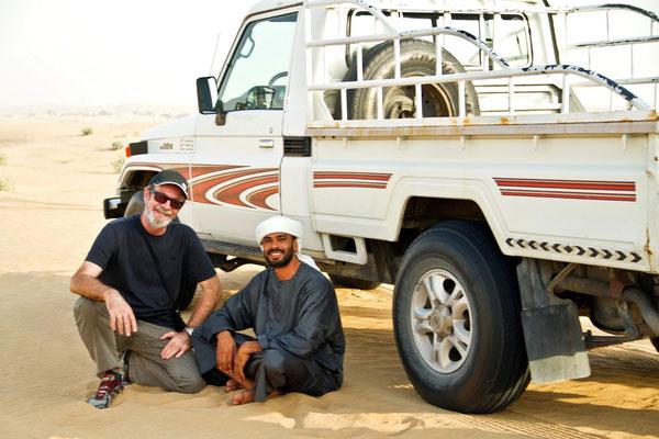 Poznany na pustyni Arab