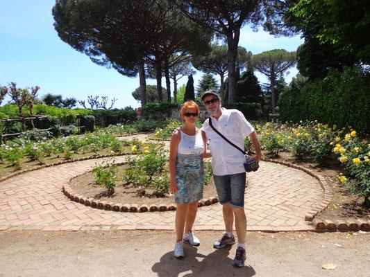 w parku Cimbrone