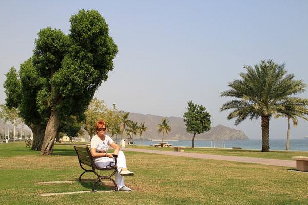 Nad Oceanem Indyjskim - Fujairah