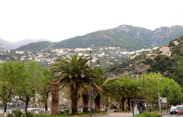 Malownicze uliczki w Maiori