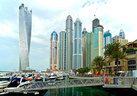 Architektura w Dubai Marina
