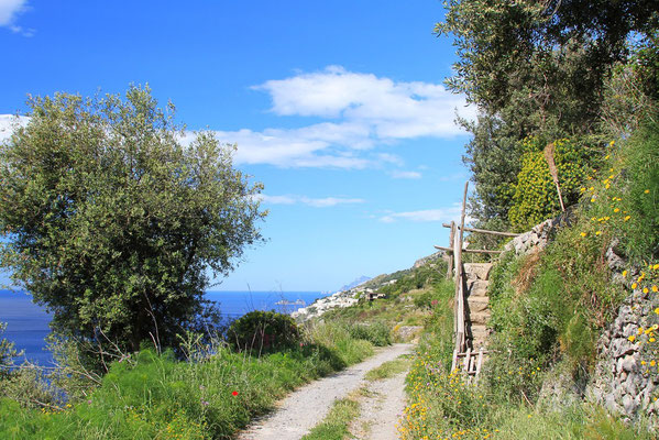 w drodze z Conca dei Marini do Furore
