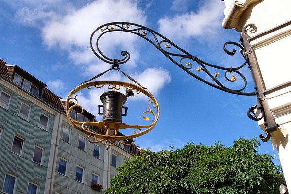 Symbol cechowy w Nikolaiviertel