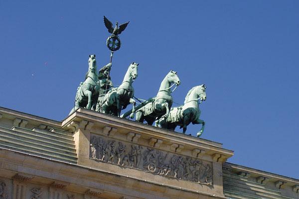 Kwadryga na Bramie Brandenburskiej