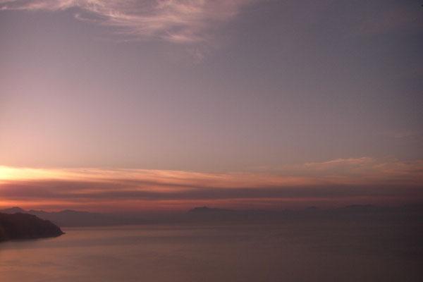... tak bylo o poranku juz nieco pozniej - widok na Salerno